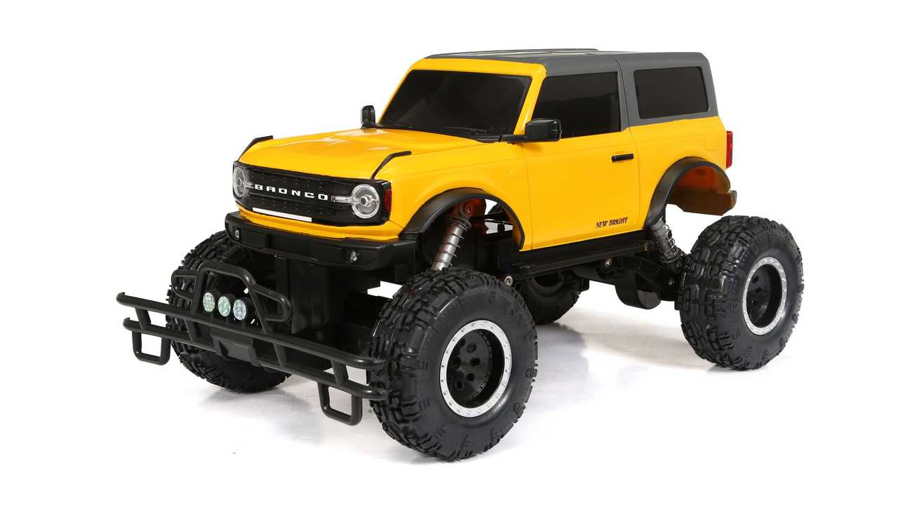 New Bright Ford Bronco R/C Wallmart