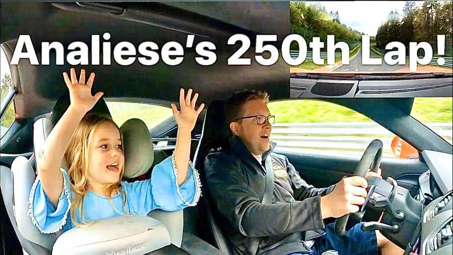 Watch A 4-Year-Old Girl Take Her 250th Shotgun Lap Of Nurburgring