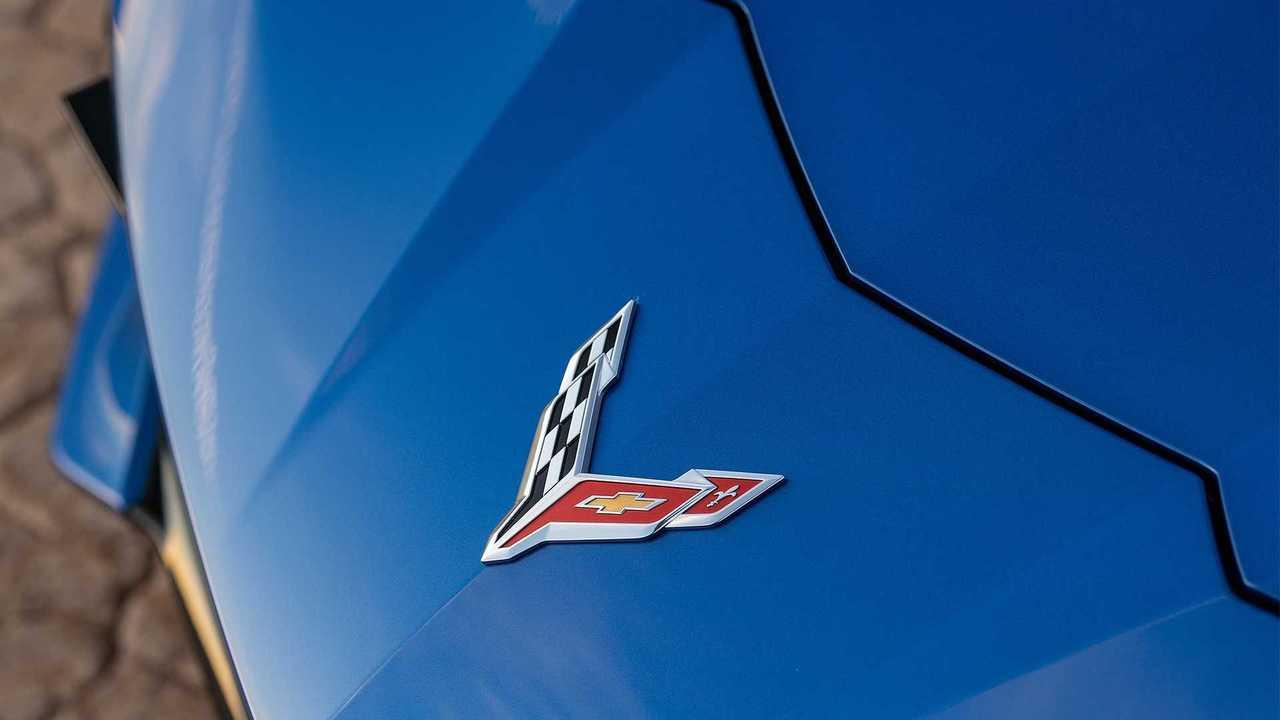 2020 Chevy Corvette Front Badge