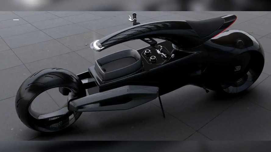 Bugatti Audacieux Electric Concept Design