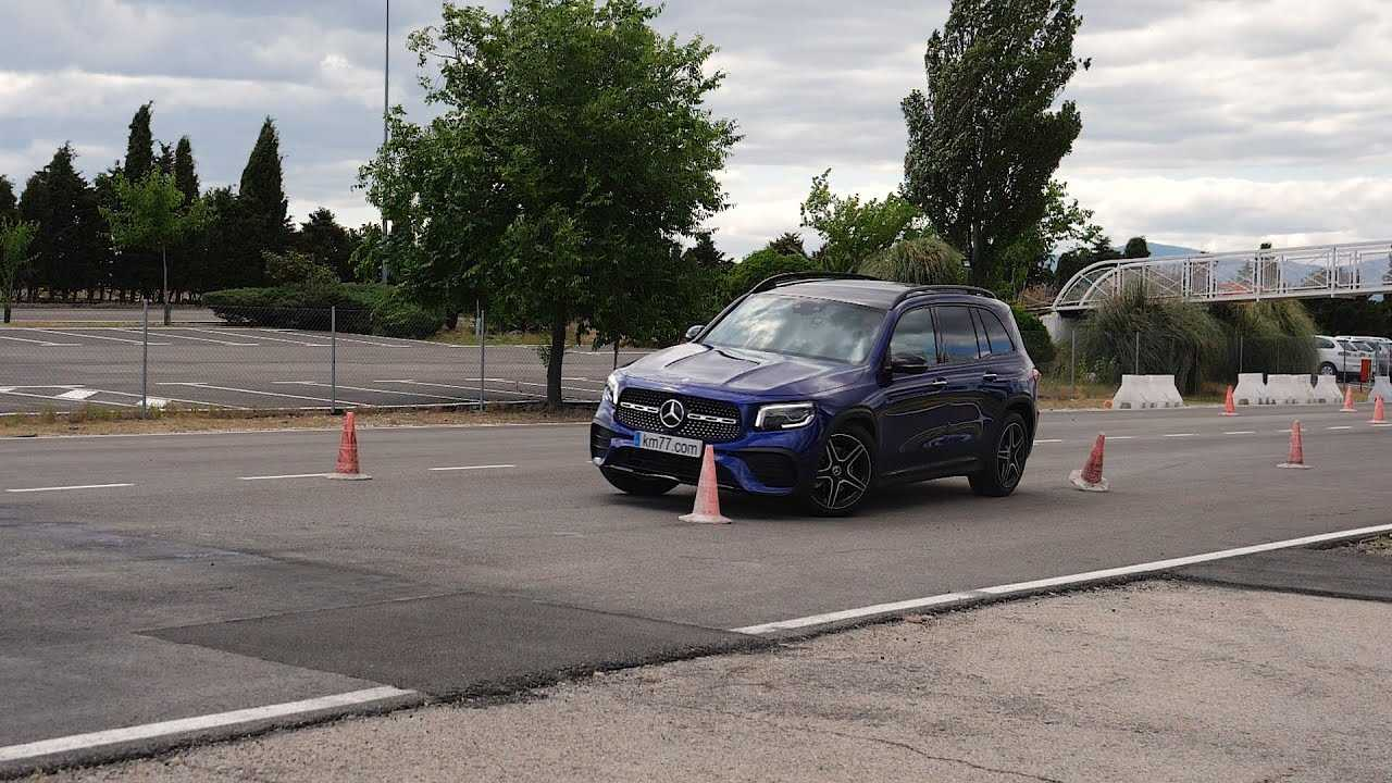 Mercedes GLB Jávorszarvasteszt