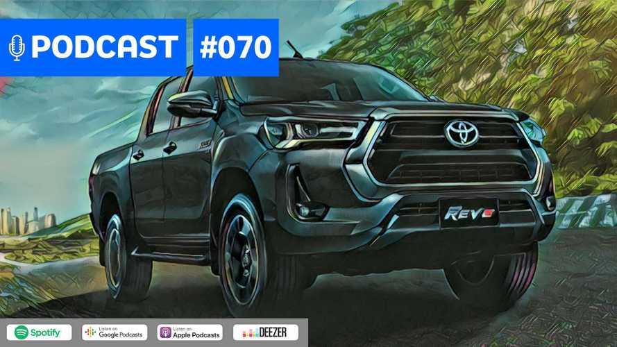 Motor1.com Podcast #70: Nova Hilux 2021 - detalhamos a picape que chega em breve