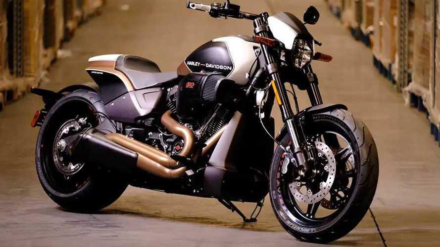 Harley-Davidson FXRD Limited Edition, 30 esemplari per il Regno Unito