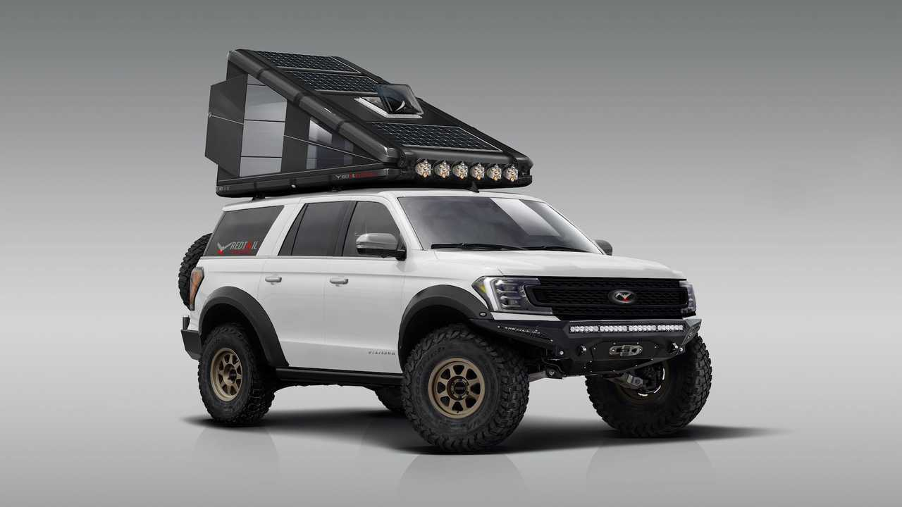 Redtail Hard-Sided Rooftop Camper RT110
