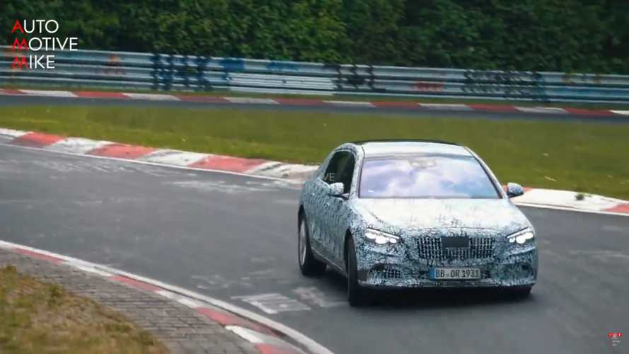 Mercedes-Maybach S-Serisi Nürburgring'i turluyor
