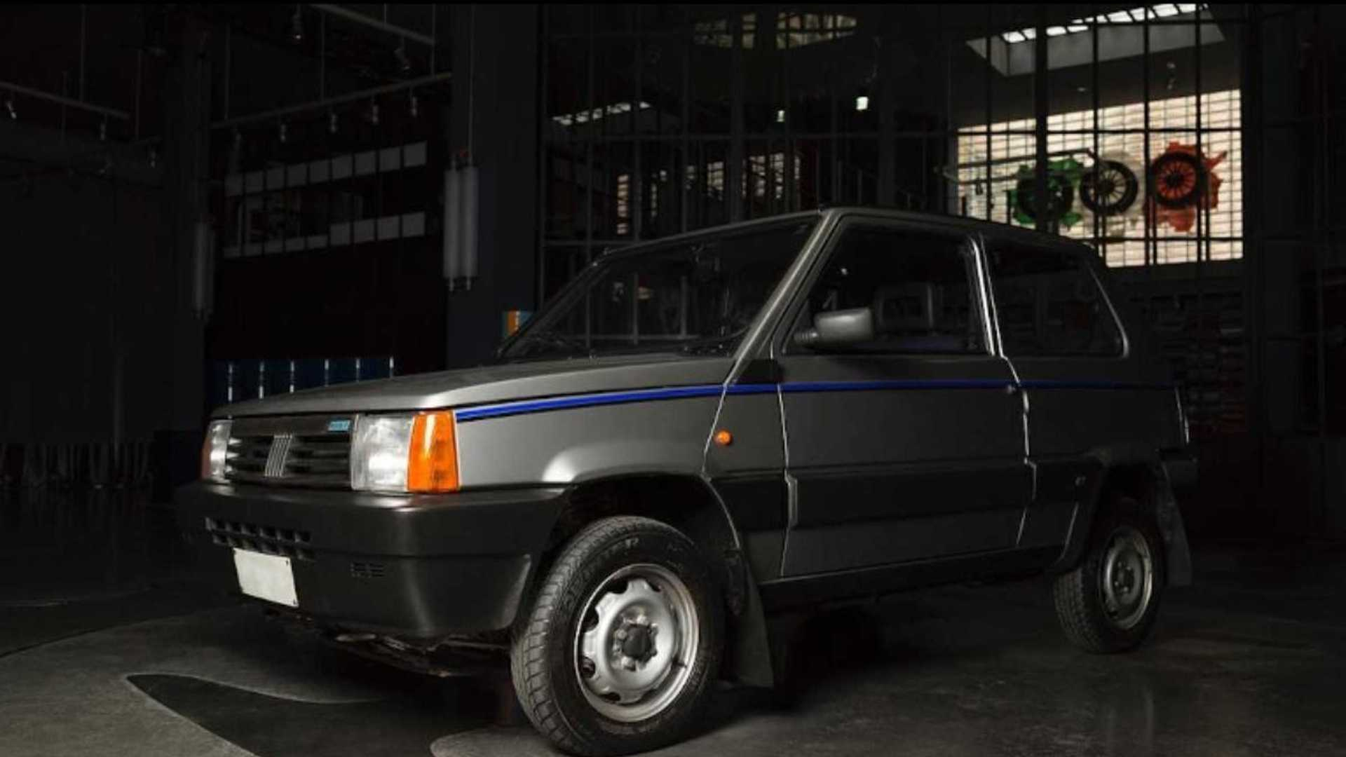 The Classic Fiat Panda 4x4 With A Designer Heart