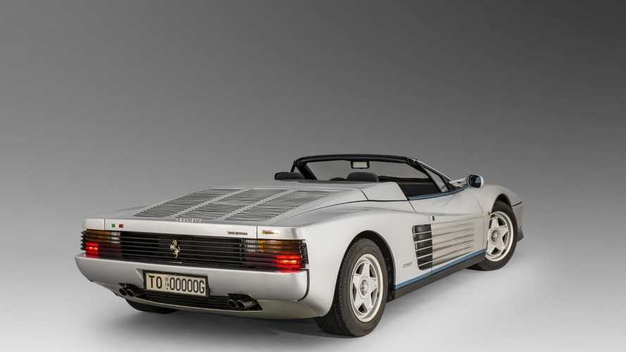 The one-off Ferrari Testarossa Spider owned by Gianni Agnelli