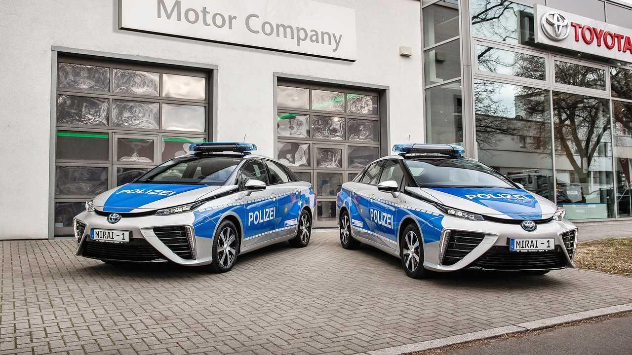 Polizeiautos in Deutschland: Toyota Mirai