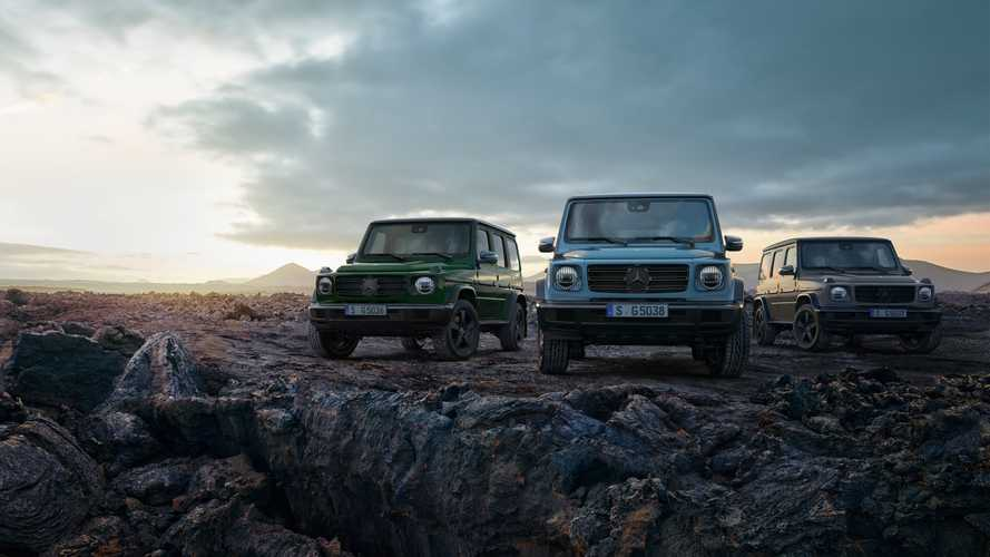 Mercedes-Benz G-Class updates for Europe
