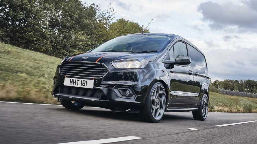 Ford'un ilginç projesi: Transit Courier ST!