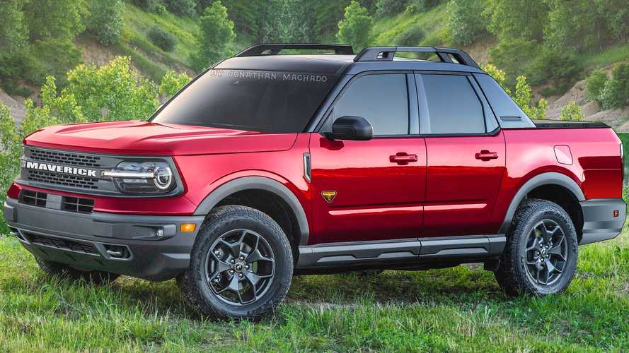 Projeção: Picape Ford Maverick será anti-Toro com base do Bronco Sport