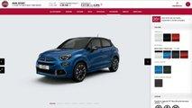 Fiat 500X, Come Configurarla