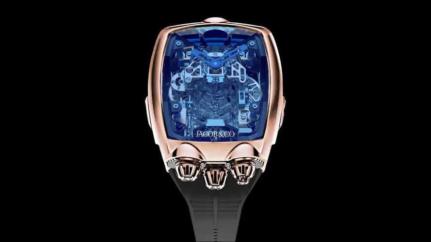 Bugatti Chiron Tourbillon von Jacob & Co.