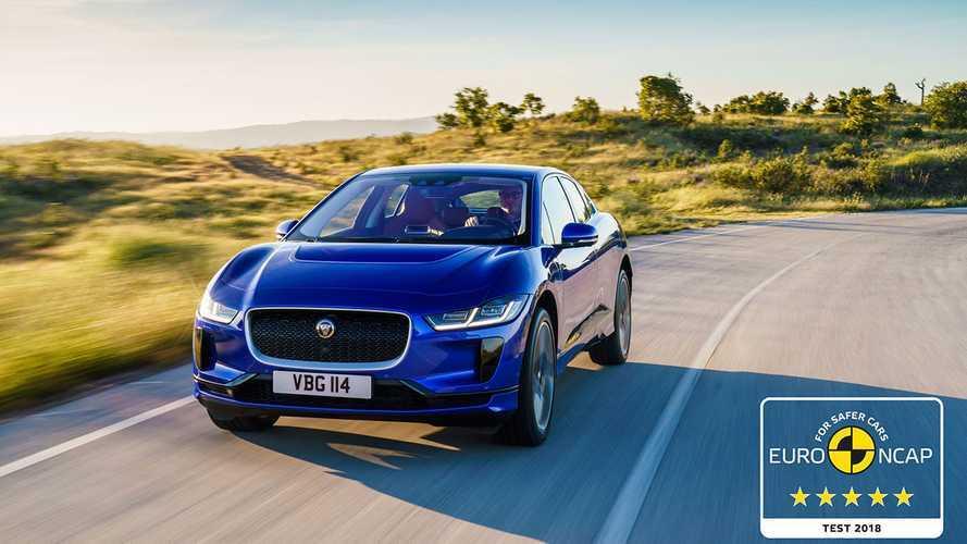 Видео: Jaguar I-Pace разбился на «пятёрку»