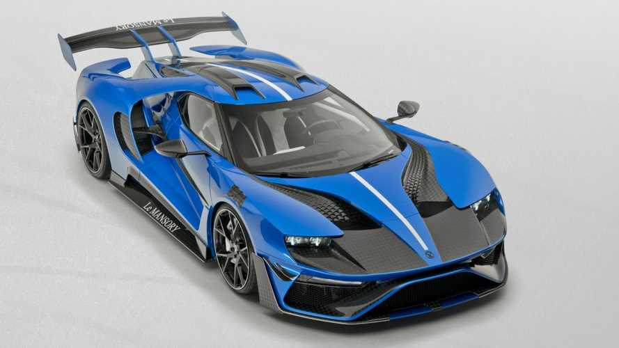 Le Mansory Is A Carbon Fiber Ode To The Ford GT Packing 700 HP
