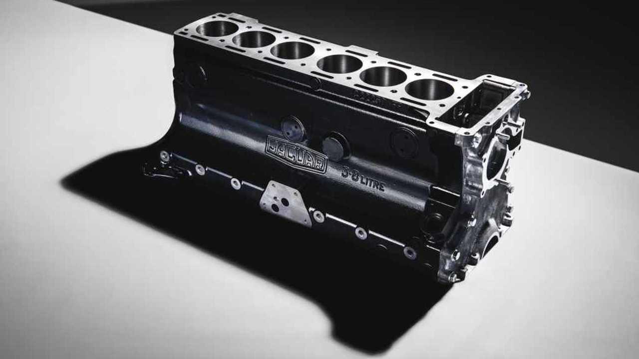 Блок цилиндров Jaguar серии XK