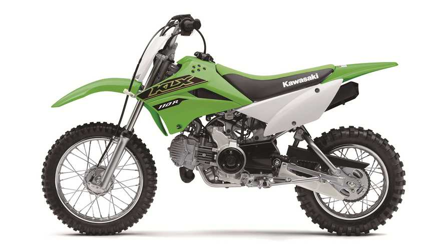 2021 Kawasaki KLX110, 230, and 300
