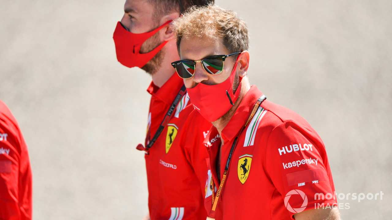 Sebastian Vettel at Austrian GP 2020