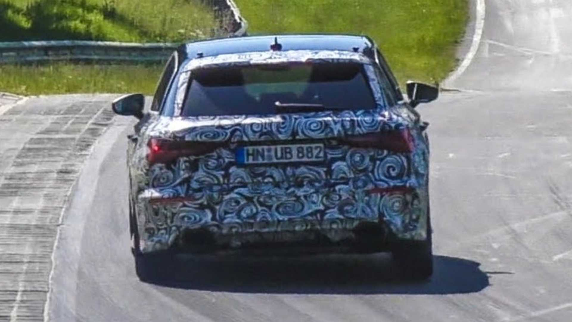 2021 Audi RS3 Spied With Angrier Exhaust Note, Could Have 415 HP - Motor1