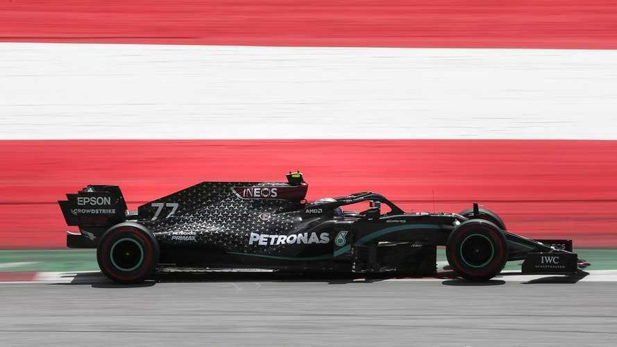 Bottas le birla la primera pole de 2020 a Hamilton