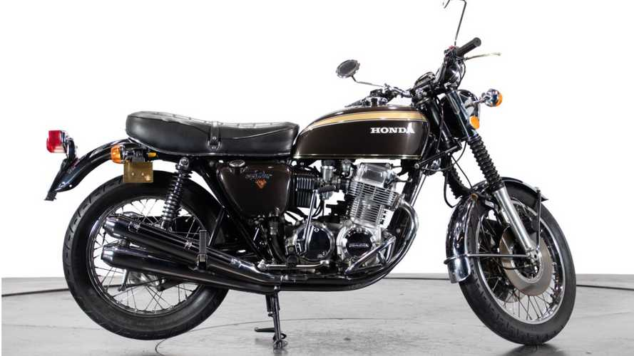This Pristine 1974 Honda CB750 Four Could Be Yours