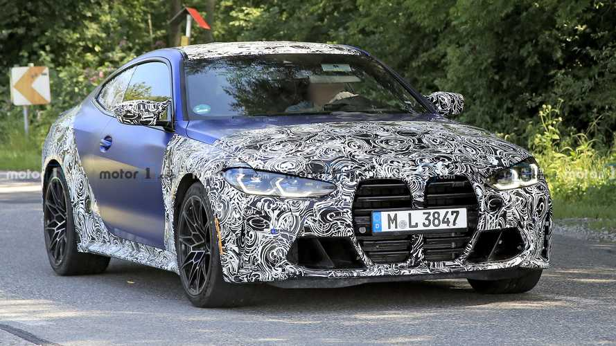2021 BMW M4 Spied: Best Look Yet At Bavaria's New Performance Coupe