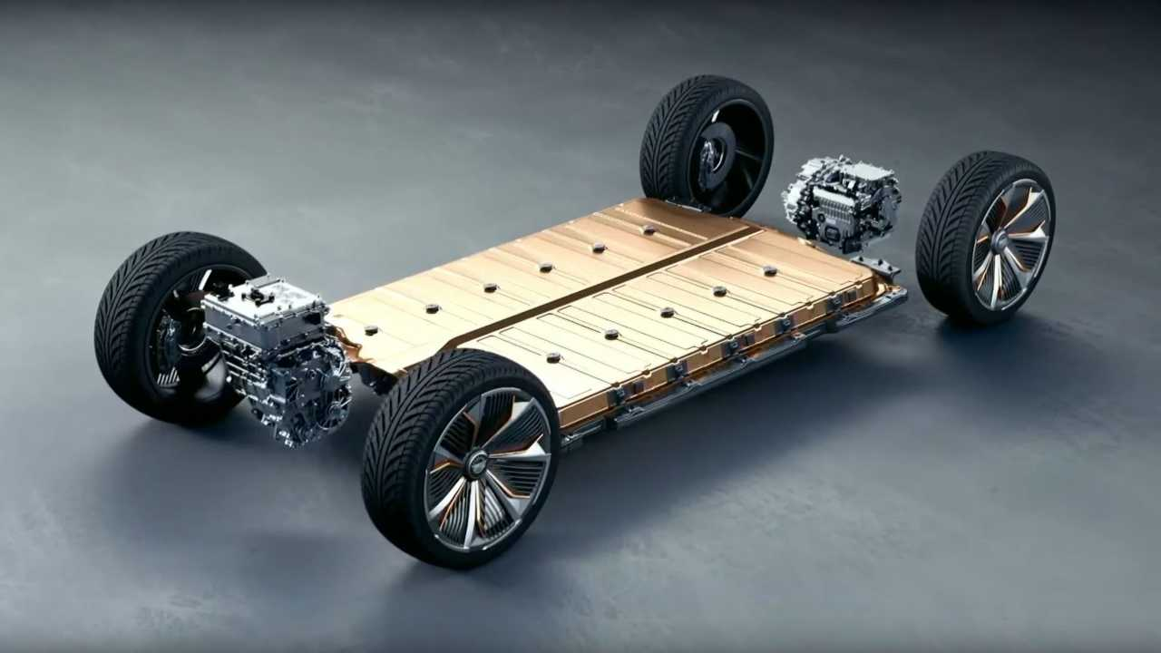 Cadillac Lyriq battery