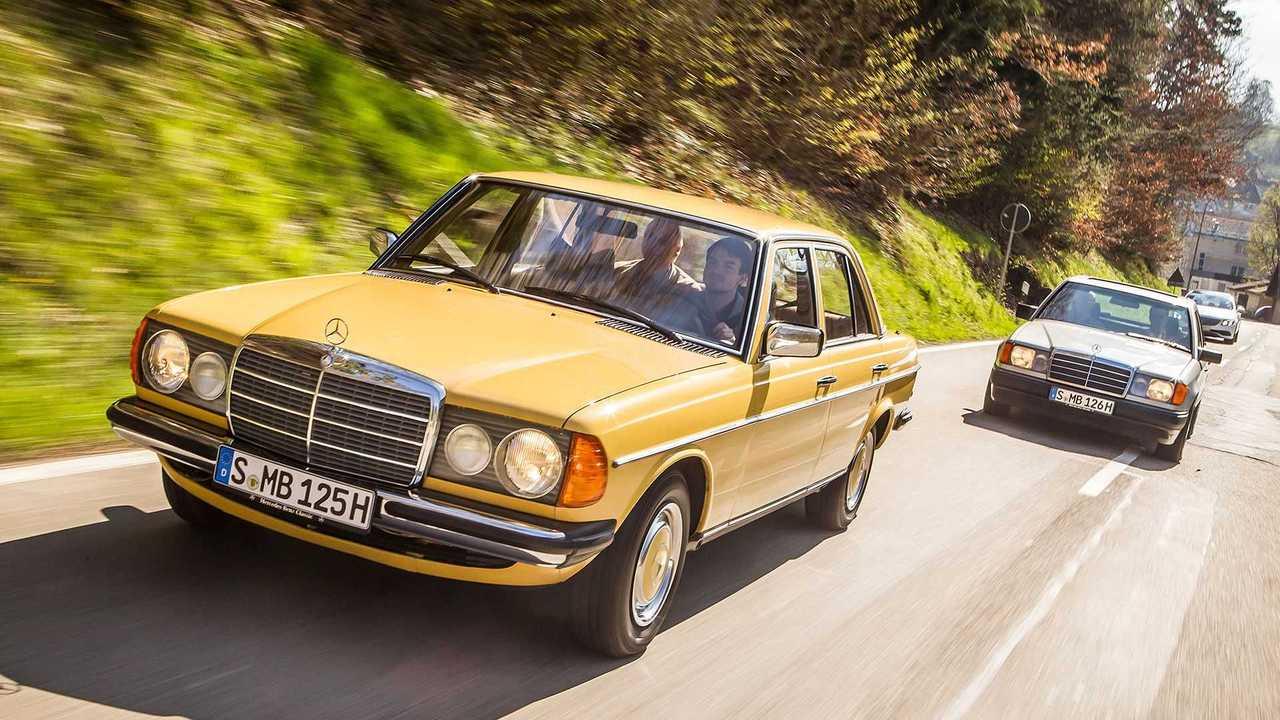 1976 bis 1986: Mercedes-Benz Baureihe 123