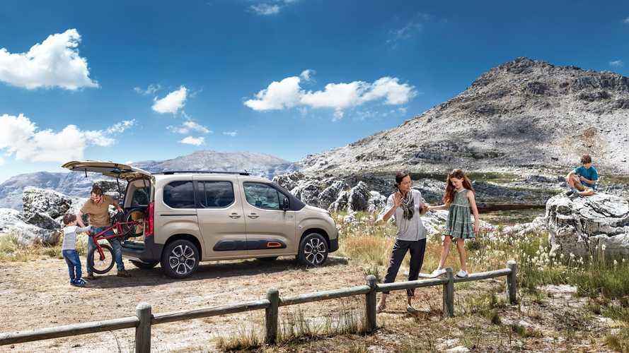 Citroën Berlingo, per vacanze all'insegna dello spazio