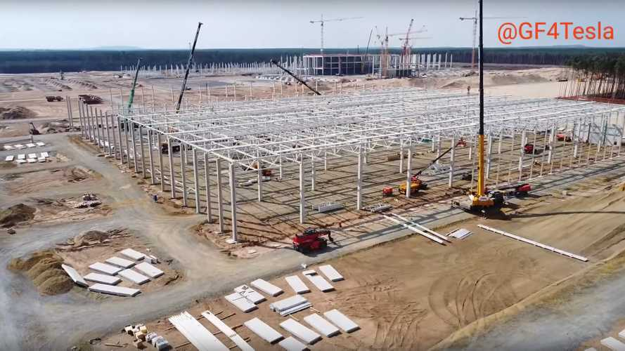 Tesla Giga Berlin Construction Progress: August 7, 2020