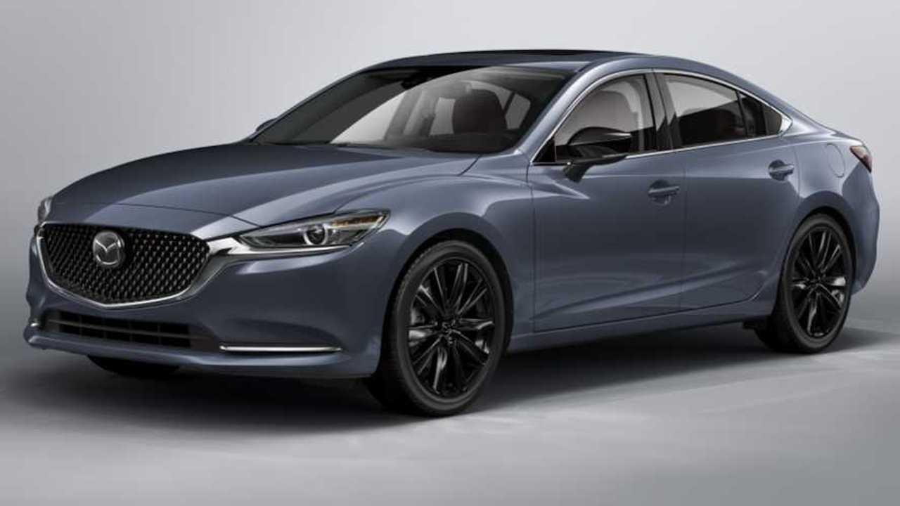 2021 Mazda6 Karbon Sürümü