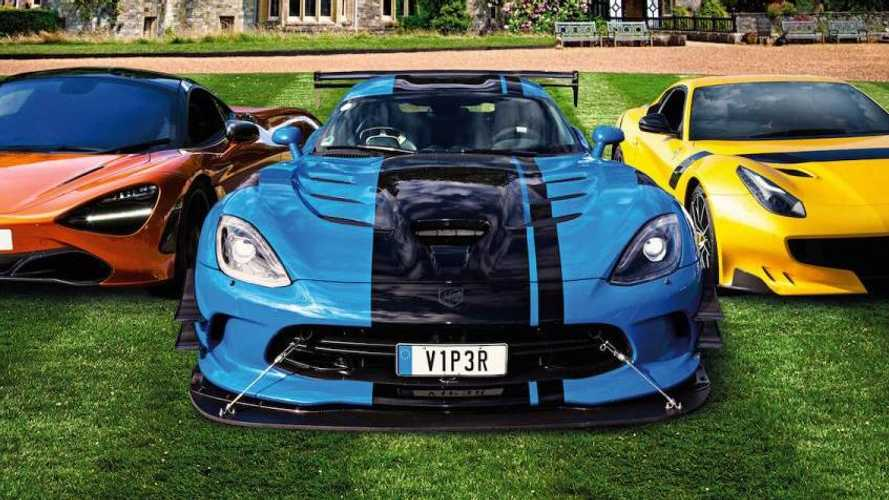 Aston Martin One-77 leads Supercar Weekend at Beaulieu