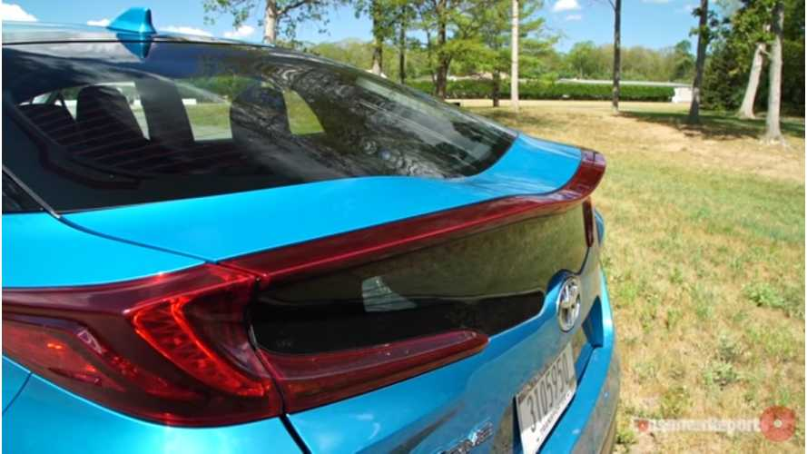 Toyota Prius Prime Quick Drive: Better, Not Perfect - Video