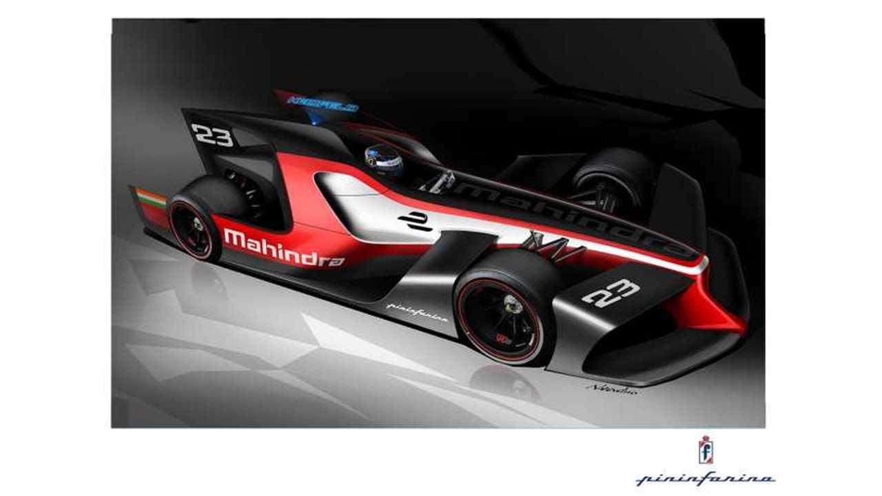 Mahindra Racing And Pininfarina Release Concept Formula E Designs
