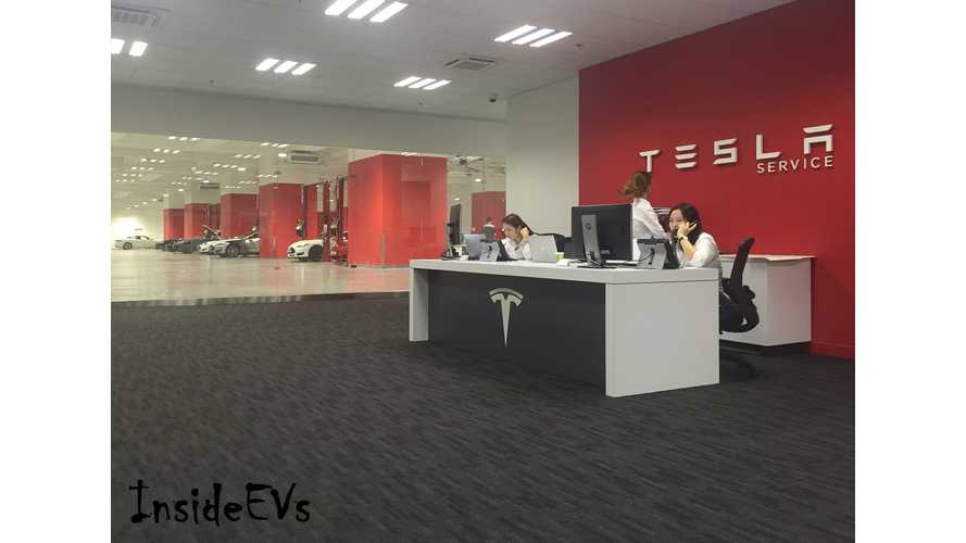 Tesla Giga-Service Center - Largest In Asia, Opens In Hong Kong