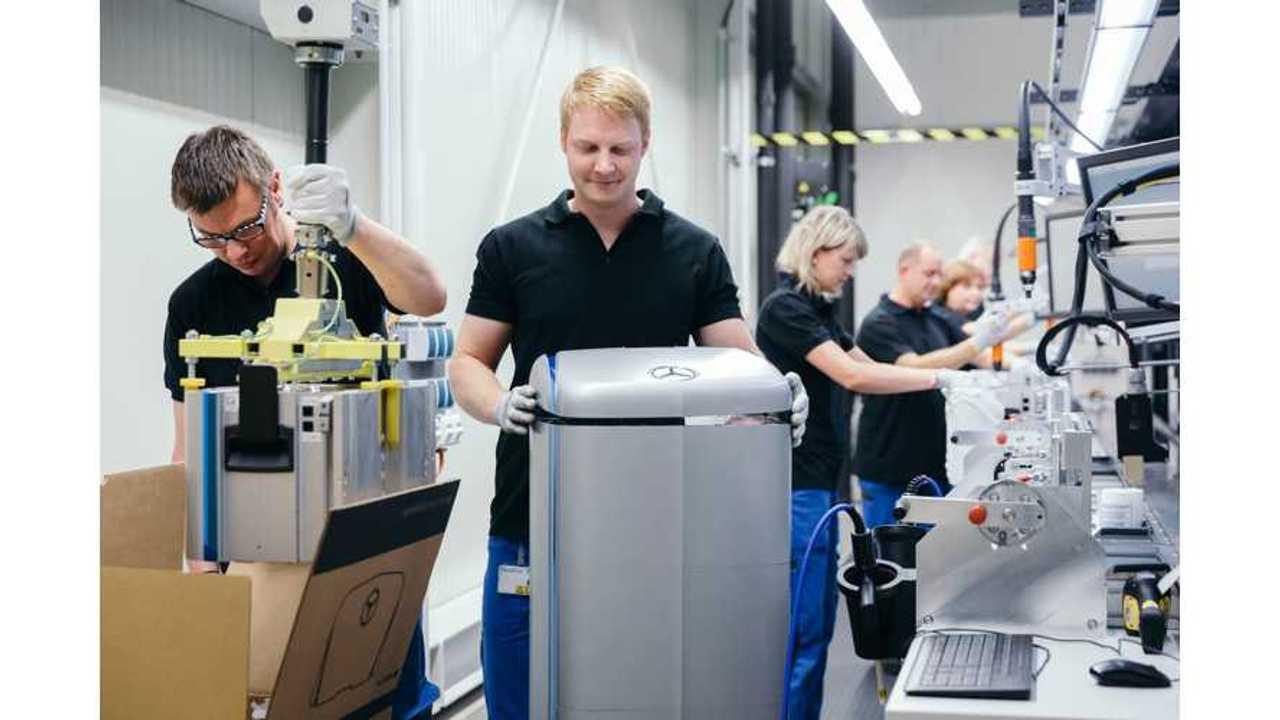 Daimler Establishes Mercedes-Benz Energy For Energy Storage Solutions