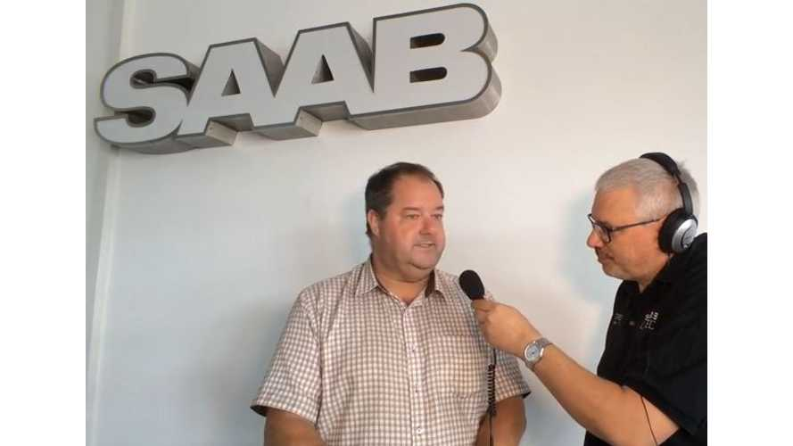 Video Interview With NEVS Representative On Electric Saab 9-3
