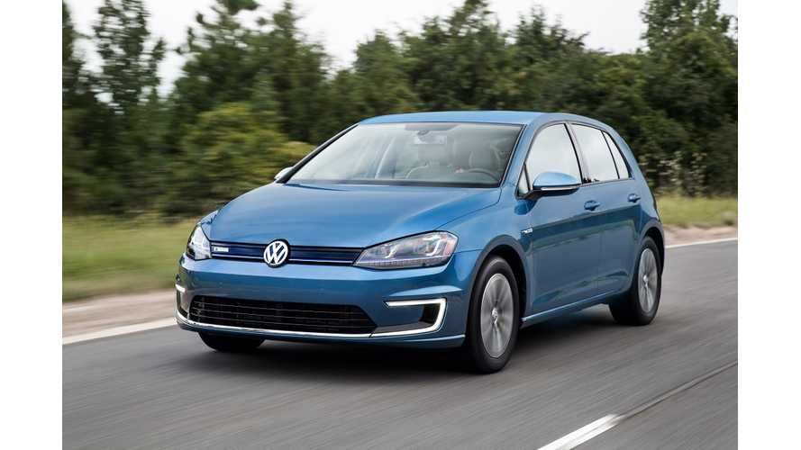 Volkswagen e-Golf Priced $35,445 - Available Only Fully Loaded