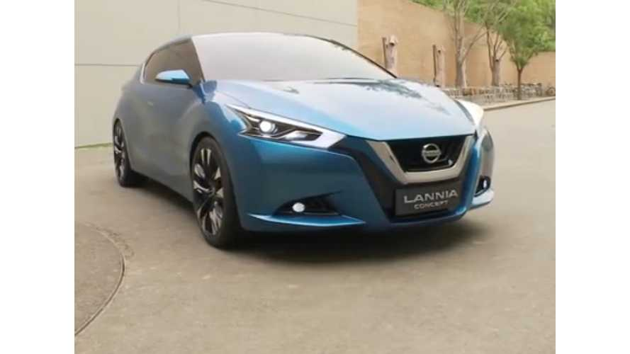 Next Generation of Nissan LEAF Visualized