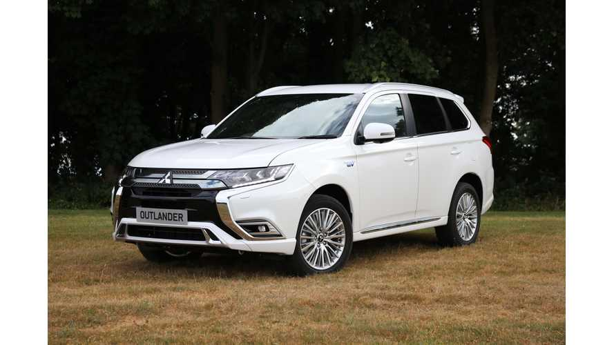 Outlander PHEV Is Best-Selling Mitsubishi In Europe