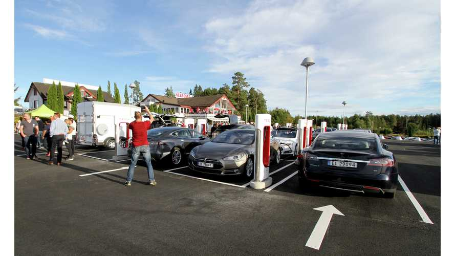 Norway Is The Place To Be For Tesla Owners and EV Lovers