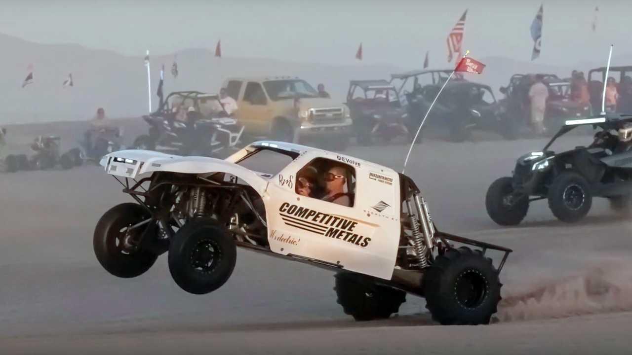2018 Tesla Sand Truck Racer