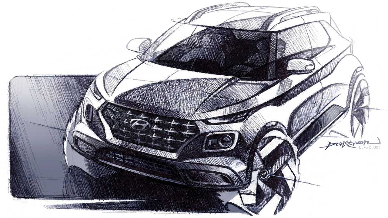 Hyundai Venue 2020, teaser oficial