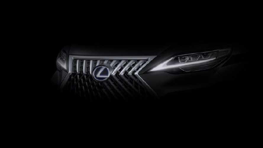 Lexus MPV teasers
