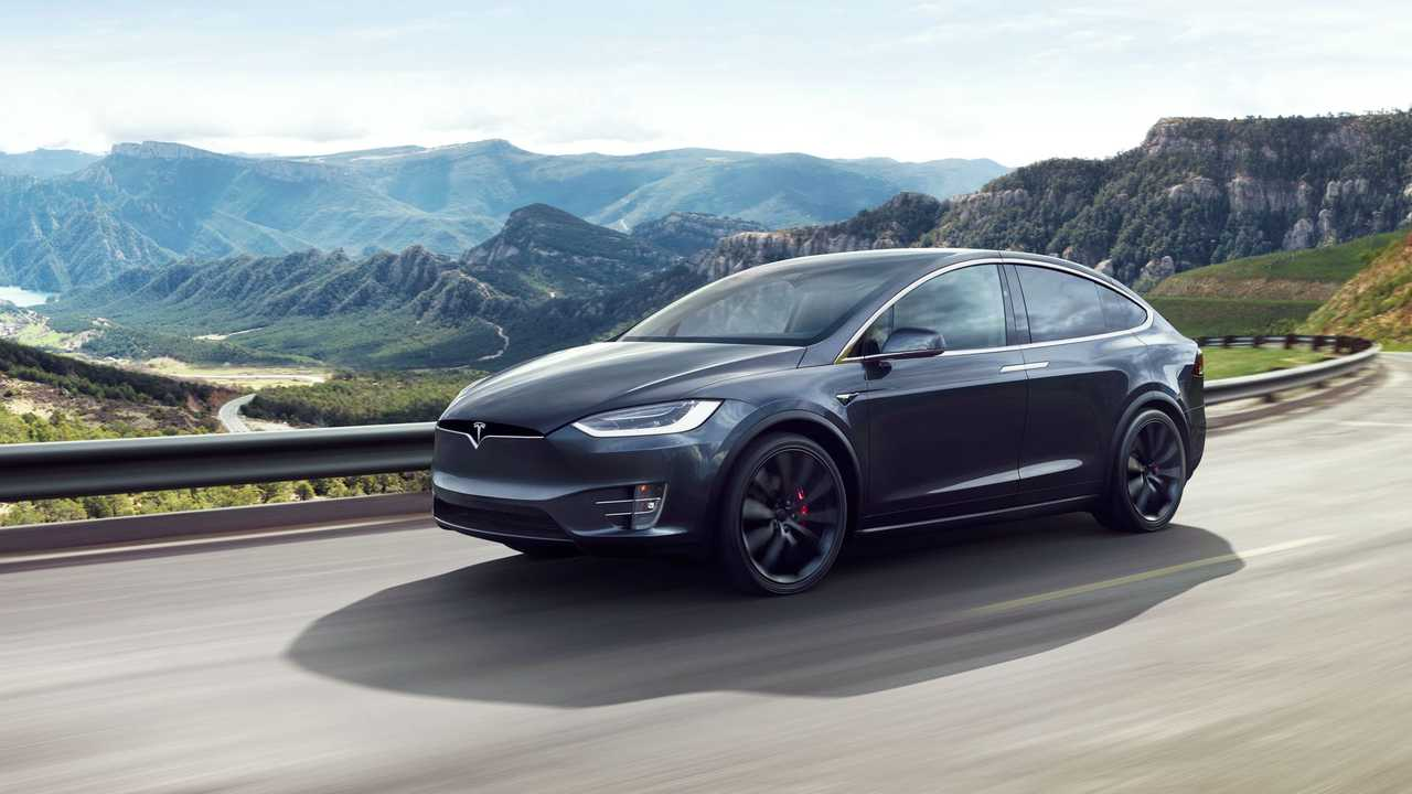 Tesla Model X With Chinese Gb T Dc Charging Inlet