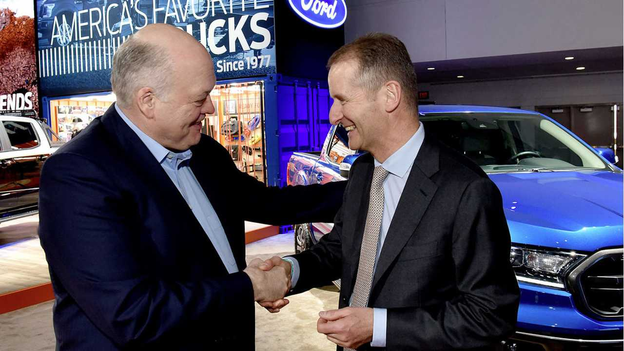 Volkswagen And Ford Officially Announce Global Alliance