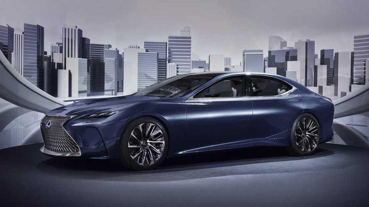 Lexus Trademarks LS-FC Fuel Cell Concept