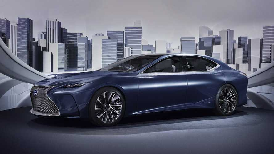 Lexus Trademarks LS-FC Fuel Cell Concept