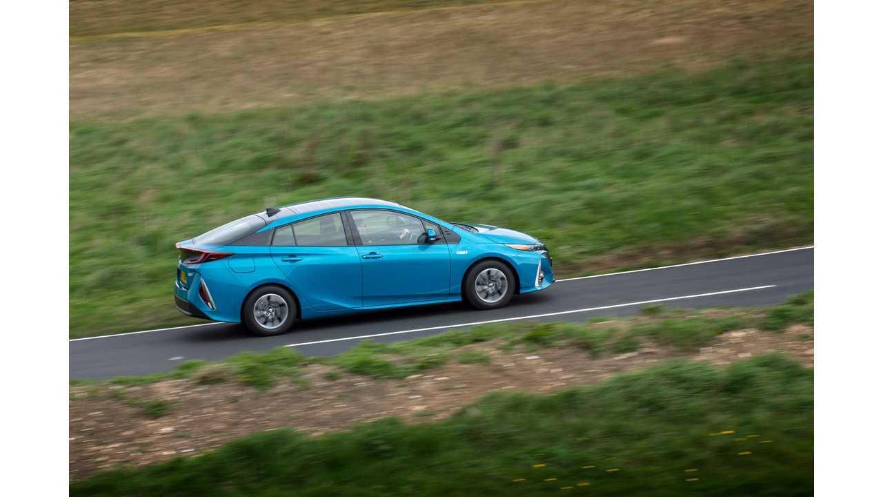 2) Toyota Prius Prime