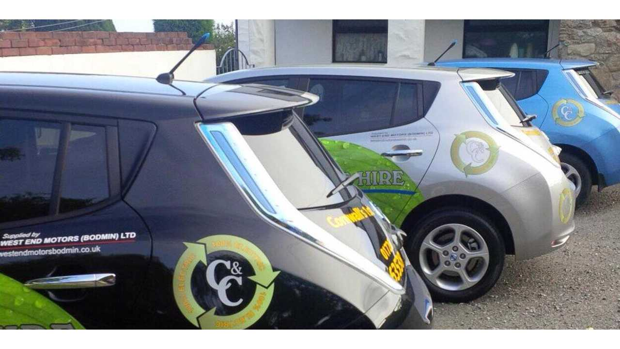 100,000-Mile Nissan LEAF Taxi Shows Only 12.5% Battery Degradation